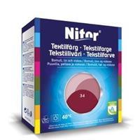 Nitor Tekstilfarge, Bordeaux 34