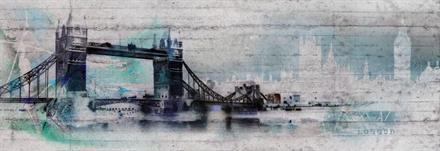 Komar fototapet London