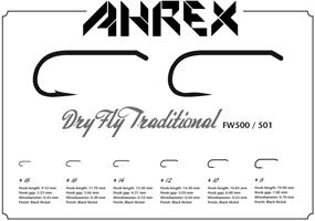 Ahrex Dry Fly #14