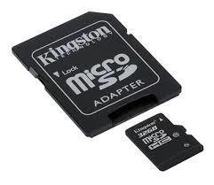SD-MINNE HCM, 32GB, CL10, KINGSTON