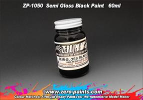 Semi Gloss Black Paint 60ml