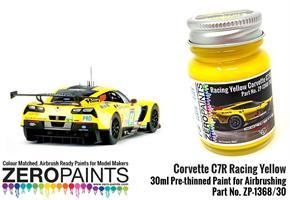 Corvette C7R Racing Yellow