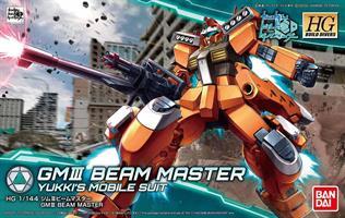 GM III Beam Master Yukki's Mobile Suit