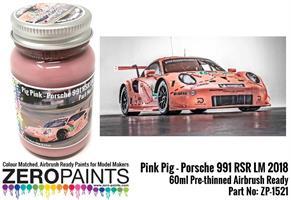 Pink Pig Porsche 991 RSR LM 2018