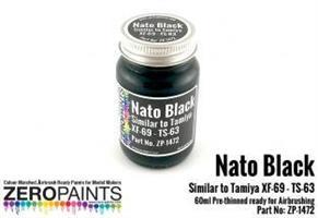 Nato Black Similar to Tamiya XF-69 - TS-63 Paint 6