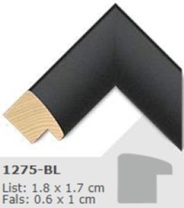 1275BL - 10x15 cm, Art-glass