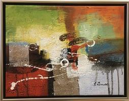 B.Russell - Abstrakt maleri 2
