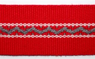Monterte Damebånd - Rød