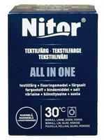 Nitor Tekstilfarge All-in-one MAXI, Marineblå