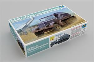 Sd.Kfz. 7/3 Half-Track Artillery Tractor Feuerleit