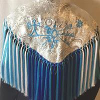 Frynset sjal
