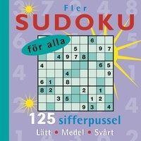 Fler Sudoku för alla