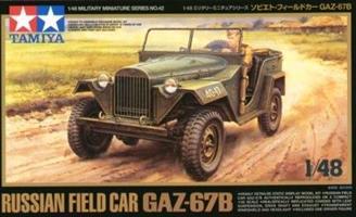 Russian Field Car GAZ-67B