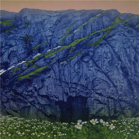 Jan Harr-Berget det blå