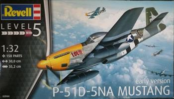 P-51D-5NA Mustang Early Version