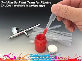 3ml Plastic Paint Pipettes