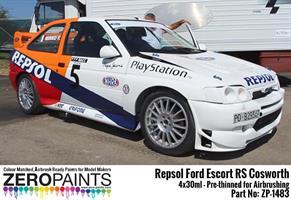 Repsol Ford Escort RS Cosworth Paint Set 4x30ml
