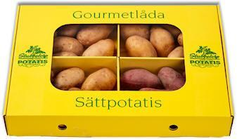SÄTTPOTATIS GOURMETLÅDA 4SRT