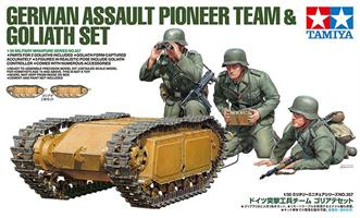 German Assault Pioneer Team - w/Goliath Set