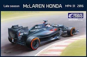 McLaren Honda MP4-31 Late Season 2016