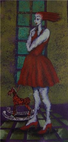 Randi Sørensen-Den røde kjolen 2