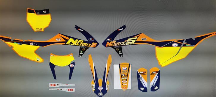 KTM EXCF 17-19