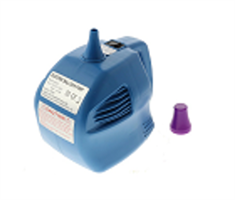 Electric balloon pump with one push output