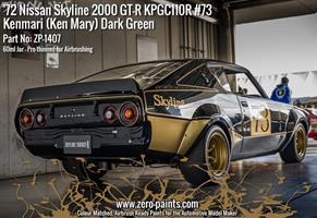 Dark Green - #73 Nissan Skyline 2000 GT