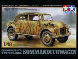 German Steyr 1500A Kommandeurwagen