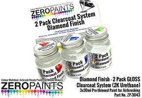 Diamond Finish - 2 pack gloss Clearcoat 3*30ml