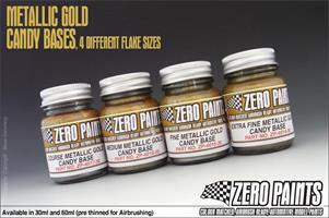 Fine Metallic GOLD Groundcoat for Candy Paints 60m