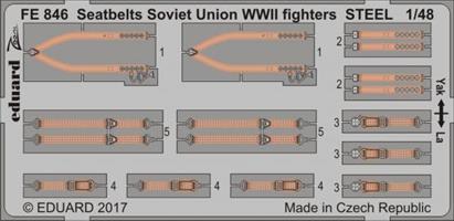 Seatbelts Soviet Union WW2 fighters