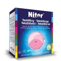Nitor Tekstilfarge, Rosa 31