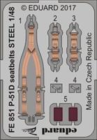 P-51D seatbelts