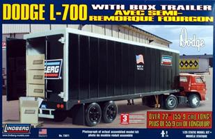 Dodge L-700 med Trailer