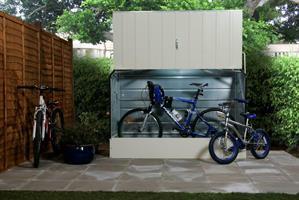 Förråd bicykle vit