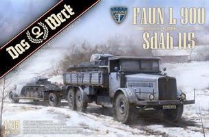 Faun L900 incl. SdAh 115