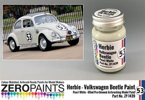 Herbie #53 Volkswagen Beetle Paint 60ml