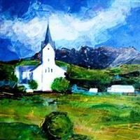 Kirka på Meløya