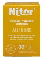 Nitor Tekstilfarge All-in-one, Gul