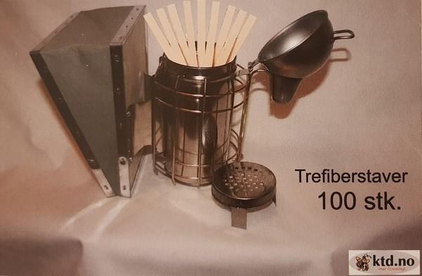 Røykstaver 100 stk