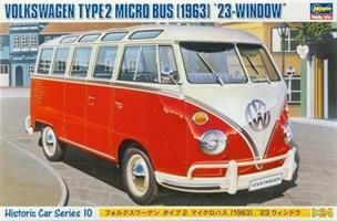 Volkswagen Type 2 Micro Bus (1963) '23-window'