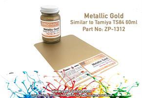 Metallic Gold Paint - 60ml