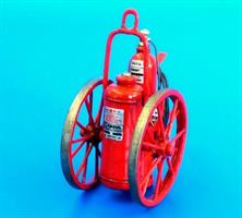 Extinguisher wheeled 150LB