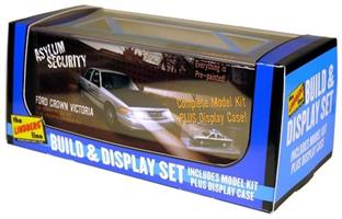 FORD CROWN VICTORIA SECURITY CAR & DISPLAY CASE