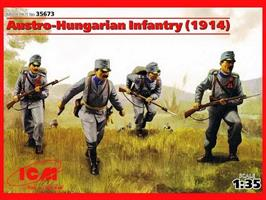 Austro-Hungarian Infantery 1914. WWI