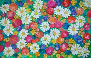 Blomstereng, illustrasjon
