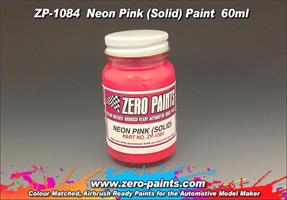 Neon Pink Paint - Solid 60ml