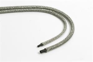 Flettet slange - ytterdiameter 2,0mm