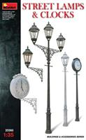 STREET  LAMPS  &  CLOCKS